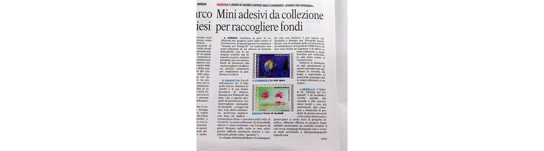 Read more about the article Mini Adesivi da collezione per raccolta fondi